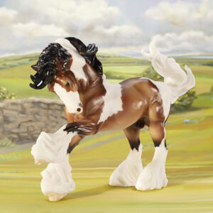 Breyer Bay Gypsy Vanner Model Horse