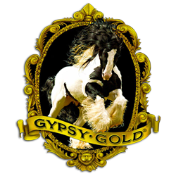 Gypsy Gold – America's Gypsy Vanner Foundation Farm logo